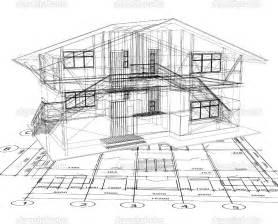 House Building Blueprints by Architecture Blueprints Design Interior