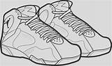 Coloring Pages Shoe March Madness Printable Jordan Awesome Clipartmag Drawing sketch template