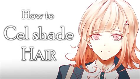 How To Shade Hair how to cell shade hair voice tutorial
