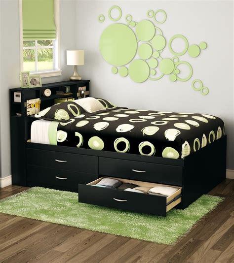 Bedframe With Headboard by Black Storage 4 Drawer Platform Bed Frame With