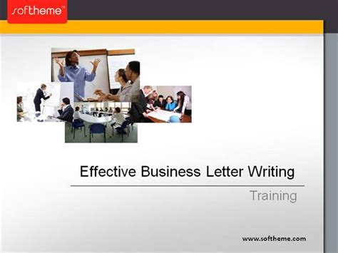 training effective business letter writing authorstream
