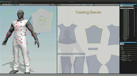 game character clothing design  marvelous designer md