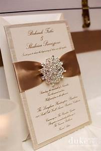 gold and crystal fancy invites stationery invites With fancy wedding invitations with crystals