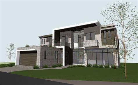 Concrete Block Modern House Plans