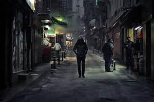 Free Images : man, pedestrian, walking, snow, people, road ...