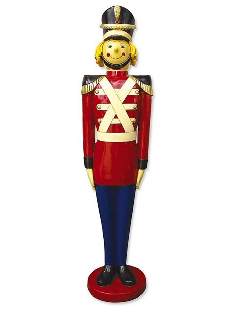 resin tin soldier decor 1 7m large decor inflatables