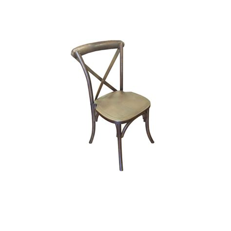 x back bistro chair x back metal bistro chair rustic
