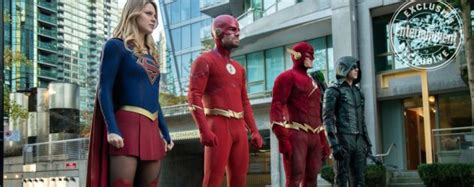 Arrow, The Flash, Supergirl