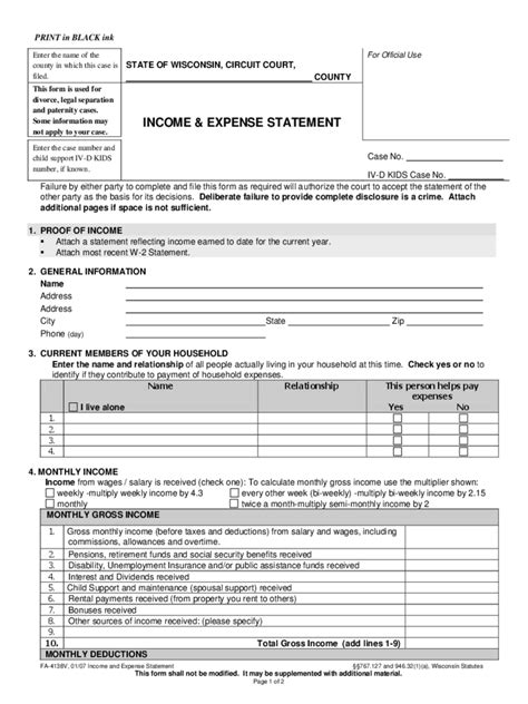 Unemployment Tax Form