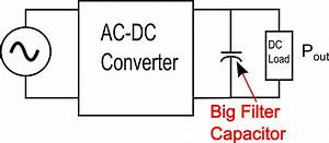 Why The Capacitor In Your Power Supply Filter Is Too Big