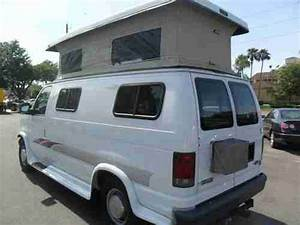 Find Used 2004 Ford E250 Econoline Cargo    Camper Pop Top