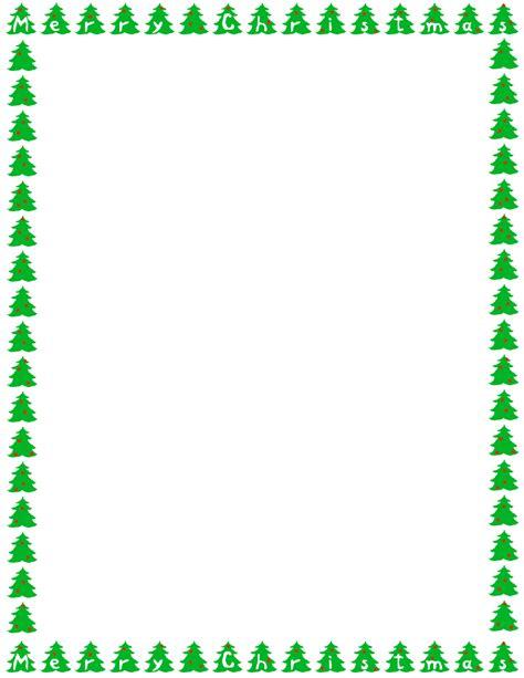 christmas tree border clipart 2 home design plan