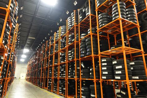 tire rack  efficient racking system  shopping complexes blog