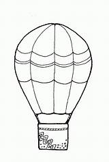 Balloon Air Coloring Balloons Pages Clipart Clip Template Sheet Basket Simple Drawing Printable Templates Clipartfest Cliparts Clipground Sketch Popular Wikiclipart sketch template