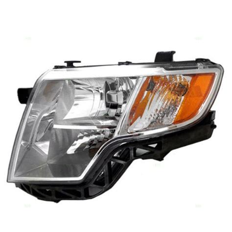oyz gjno oe replacement ford edge driver side headlight