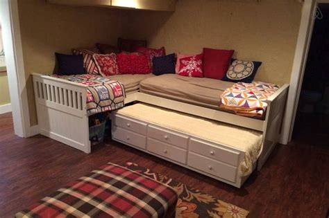 triple trundle bed google search cabin interiors kids bedroom bed kid beds