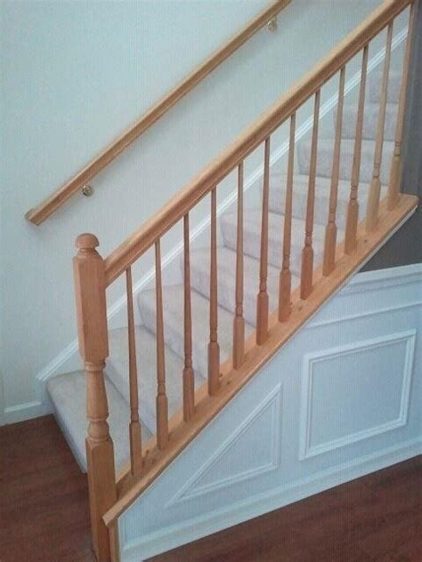 Oak Banister Rails by 1000 Ideas About Painted Stair Railings On