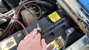 Reviewing Battery Install Of A 36 Volt Golf Cart