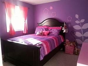 Pink and purple girls room | home stuff | Pinterest
