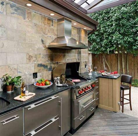 plan cuisine d été 1001 idées d 39 aménagement d 39 une cuisine d 39 été extérieure