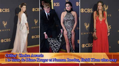 Critics Choice Awards Bisou Diane Kruger