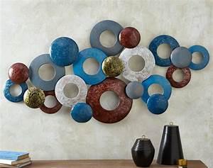 Décoration Murale En Fer : cadre tableau photophore mural becquet ~ Teatrodelosmanantiales.com Idées de Décoration