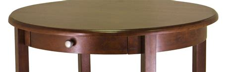 Amazoncom Winsome Wood Concord Round Coffee Table