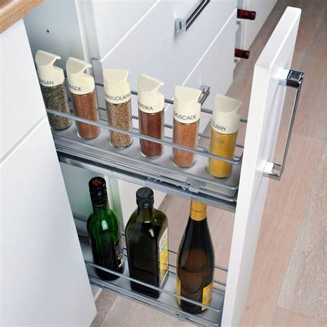 panier coulissant pour meuble de cuisine rangement coulissant epices bouteilles pour meuble l 15