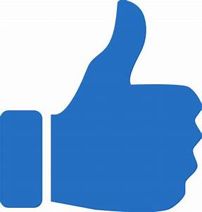 Thumbs Up Icon Blue Clip Art at Clker.com - vector clip ...