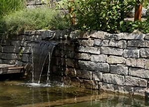 Steinmauer Mit Wasserfall : wasser im garten h c eckhardt gmbh co kg ~ Sanjose-hotels-ca.com Haus und Dekorationen