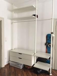 Begehbarer Schrank Ikea Kleiderschrank Wei G Nstig Ikea