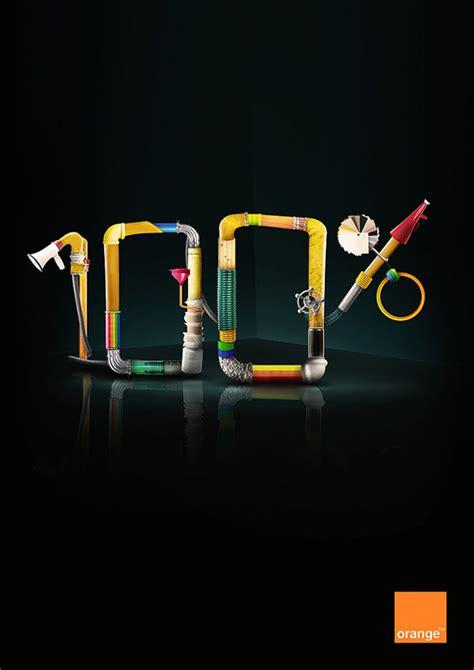 20 creative exles of typography in print ads designmodo