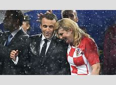 FIFA World Cup 2018 Soaked but smiling, Croatian