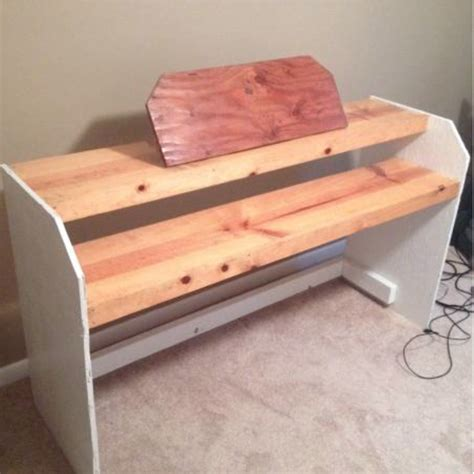 diy keyboard stand   stage piano  play  home