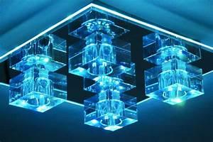 Deckenleuchte Sternenhimmel Halogen Led Lampe 100 Cm : design deckenlampe deckenleuchte led farbwechsel mit fernbedienung lampe leuchte ebay ~ Yasmunasinghe.com Haus und Dekorationen