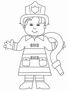 Community Helpers Coloring Pages For Kids Coloring4free