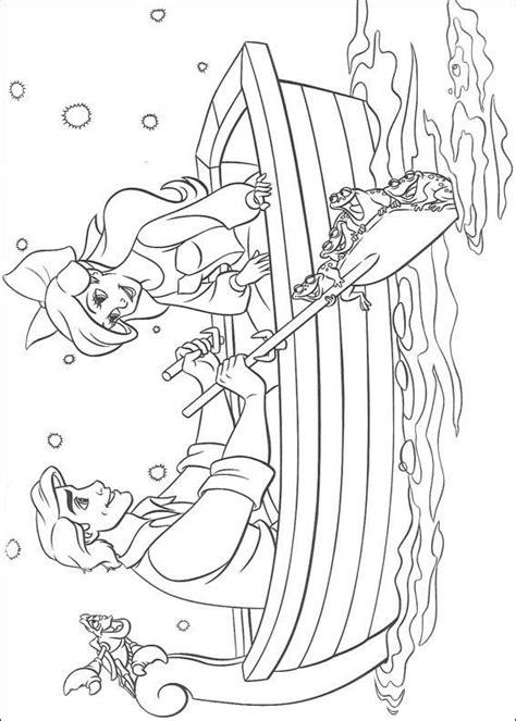Kleurplaat Ariel Eric by Kleurplaat De Kleine Zeemeermin Ariel En Eric Aan Het