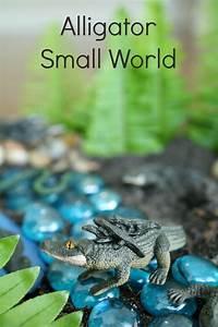 Alligator Small World Play