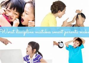 Discipline Mistakes That Parents Make