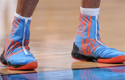 Close Up Of Russell Westbrooks Why Not Shoes Via Nba