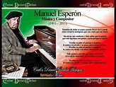 Homenaje a Manuel Esperón - YouTube