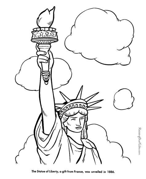 statue  liberty art clipartsco