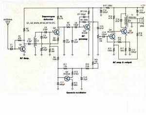 6 Transistor Vhf Super Regenerative Receiver