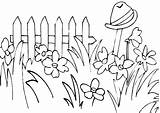 Grass Coloring Tall Flower Drawing Secret Printable Amazing Colorluna sketch template
