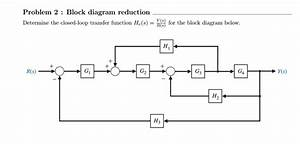 Solved  Block Diagram Reduction Determine The Closed
