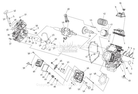 Generac Parts Diagram For Engine