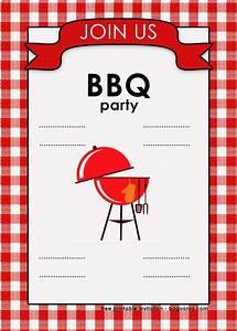 Free Backyard Bbq Invitation Templates  U2013 Free Printable Birthday Invitation Templates  U2013 Bagvania