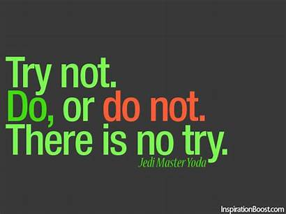 Yoda Quotes Jedi Master Try There Star