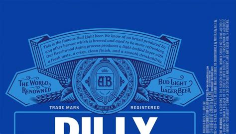 bud light bringing dilly dilly campaign  labels