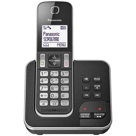 Panasonic Cordless Phone with 1 Handset KX-TGD320ALB
